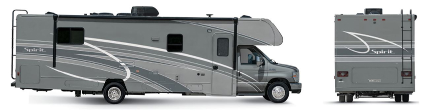 Winnebago Spirit Cool Mist Exterior