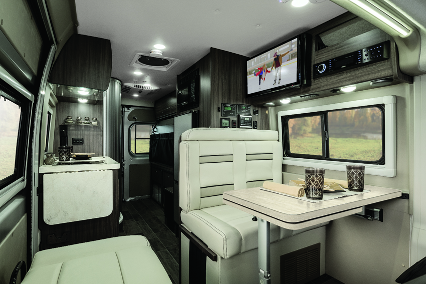 Winnebago Travato Interior