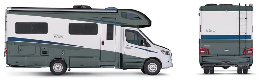 Winnebago View Stellar Exterior Option