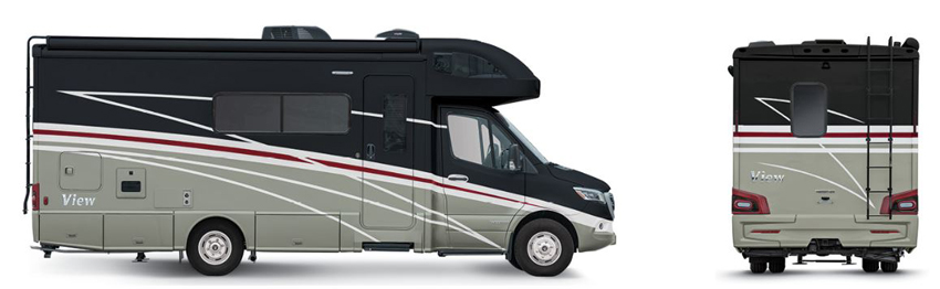 Winnebago View Tuscan Exterior