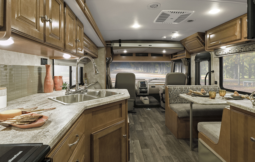Winnebago Sunstar Interior