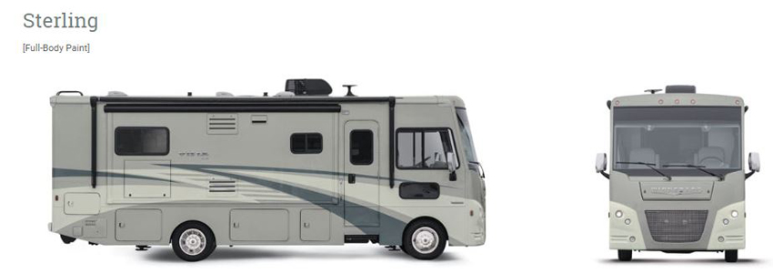 Winnebago Vista LX Sterling Exterior