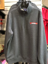 Graphite 1/4 Zip Sweatshirt