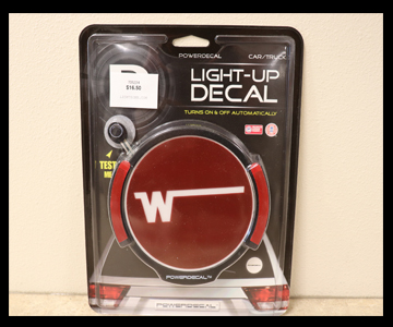 Winnebago RV Winnebago Light-Up Decal