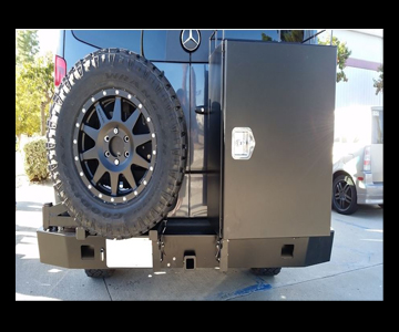 Winnebago Revel Aluminess Slimline Rear Bumper