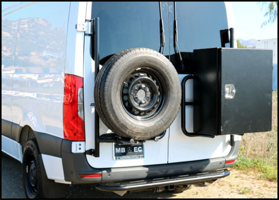 Aluminess Box and Tire Rack