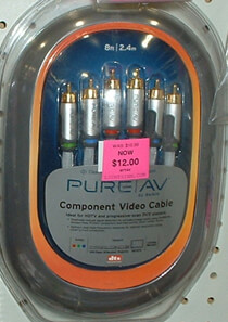 Pure AV Component Video Cables