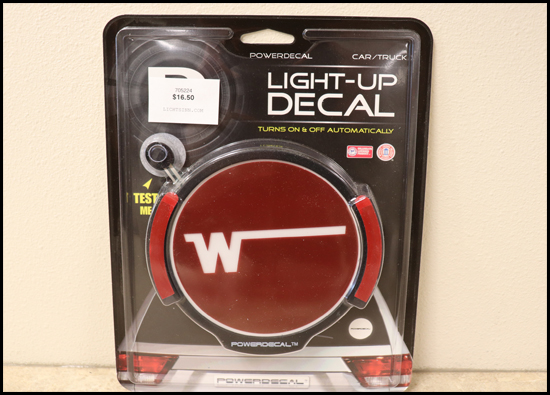 Light Up Winnebago Decal