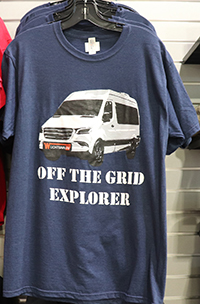Navy Off the Grid Explorer T-Shirt