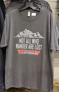 Heather Gray Not All Who Wander Are Lost T-Shirt