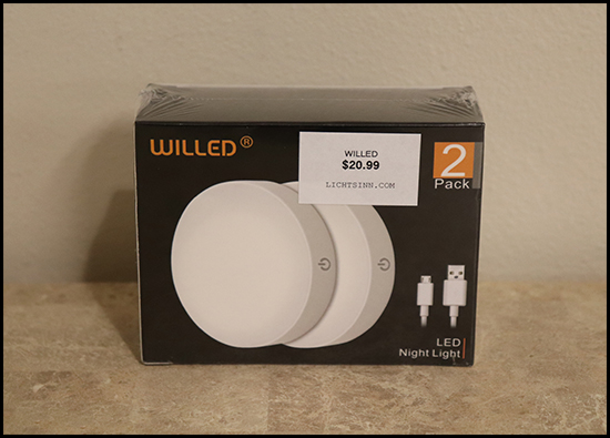 Willed LED Night Light