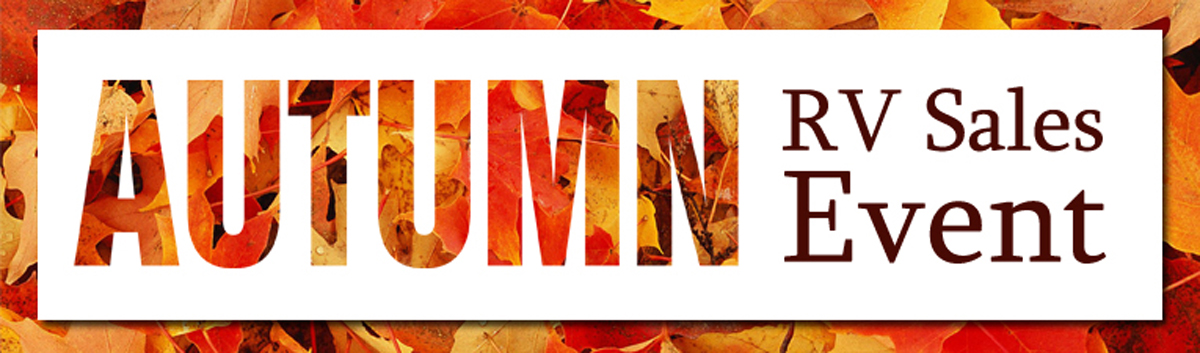 Autumn RV Sales Event