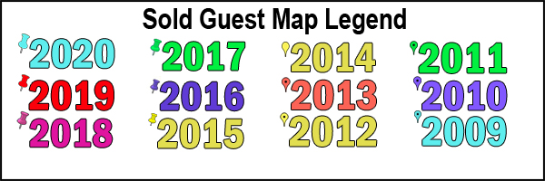 Sold Guest Map Legend