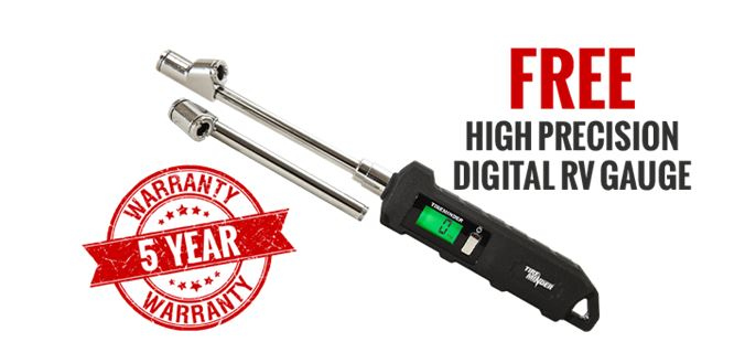 Free High Precision Digital RV Gauge with Purchase of TireMinder