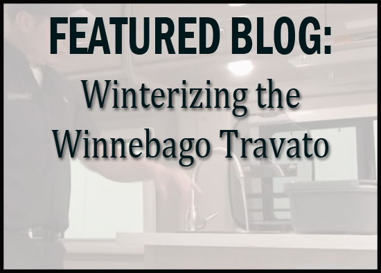 Winterizing the Winnebago Travato