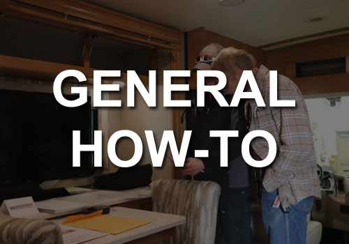 General RV How To