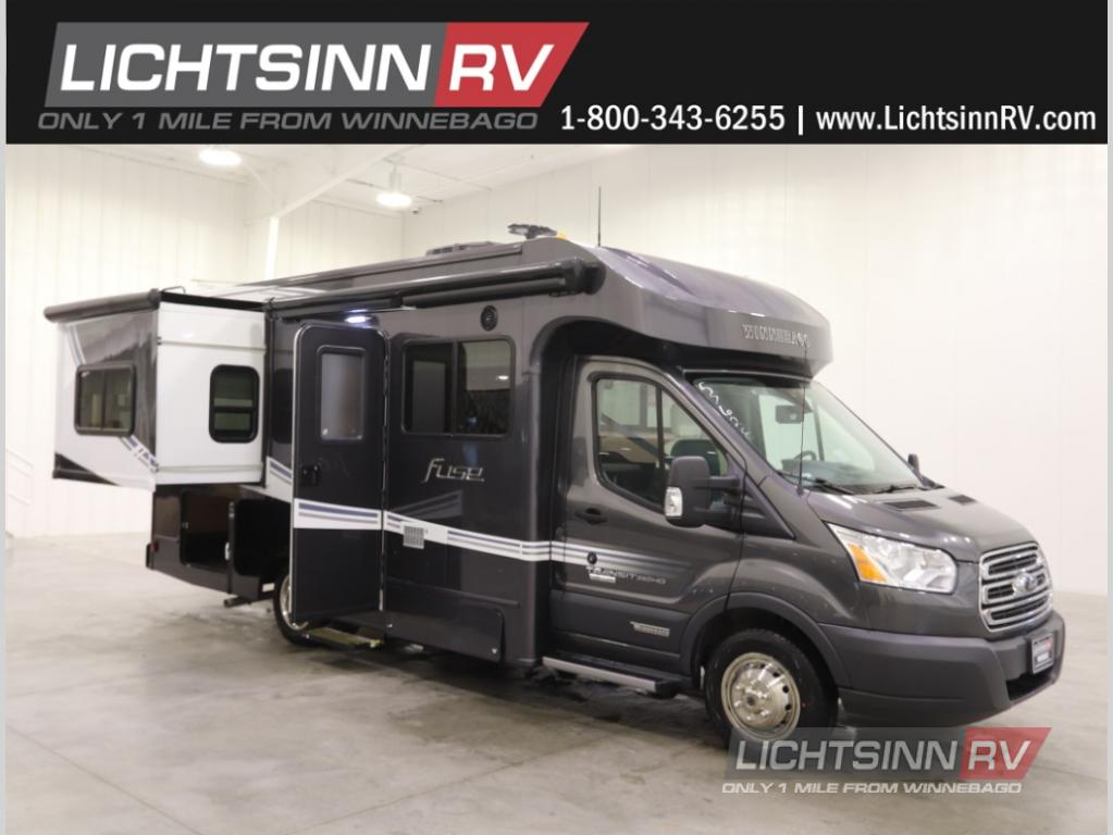 New 2019 Winnebago Fuse 23T Motor Home Class C - Diesel at Lichtsinn