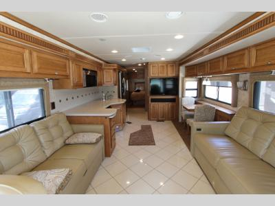 Front to Back - 2012 Itasca Meridian 36M
