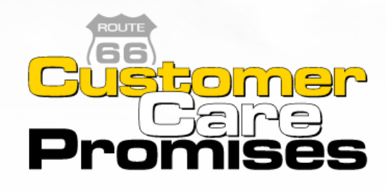 Route 66 Customer Care Promises
