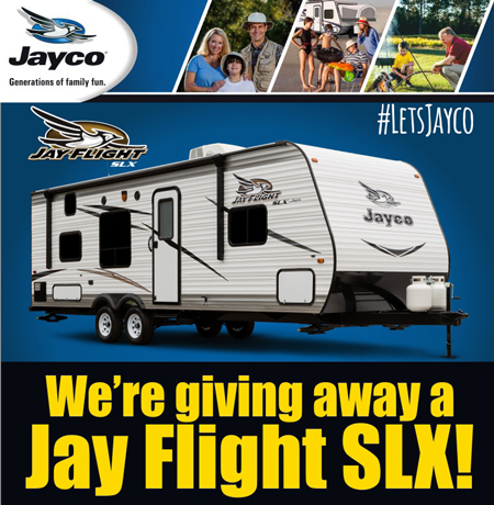 RV Giveaway | Manteca Trailer & Motorhome, LLC