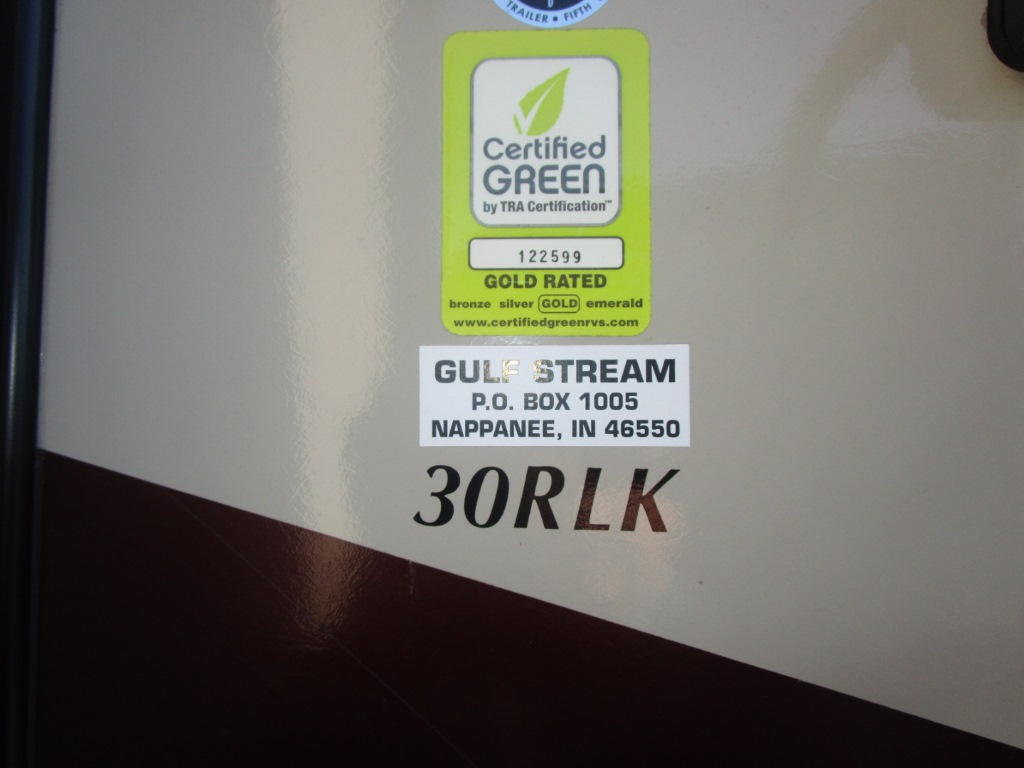 Used 2014 gulf stream rv streamlite champagne series 30rlk travel next 1betcityfo Image collections