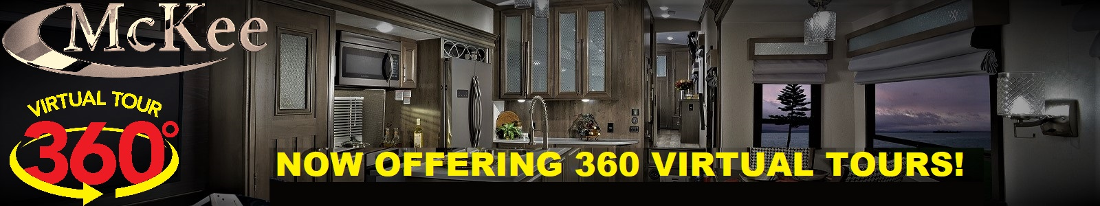 McKee RV 360 Virtual tours