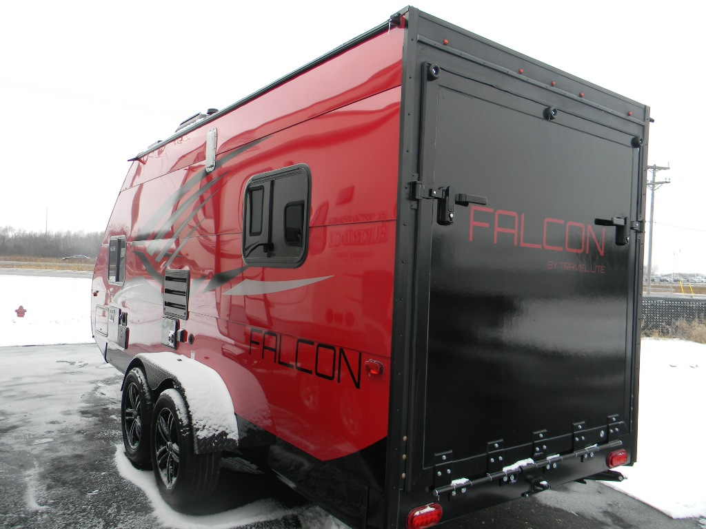 New 2018 Travel Lite Falcon F 23th Toy Hauler Travel