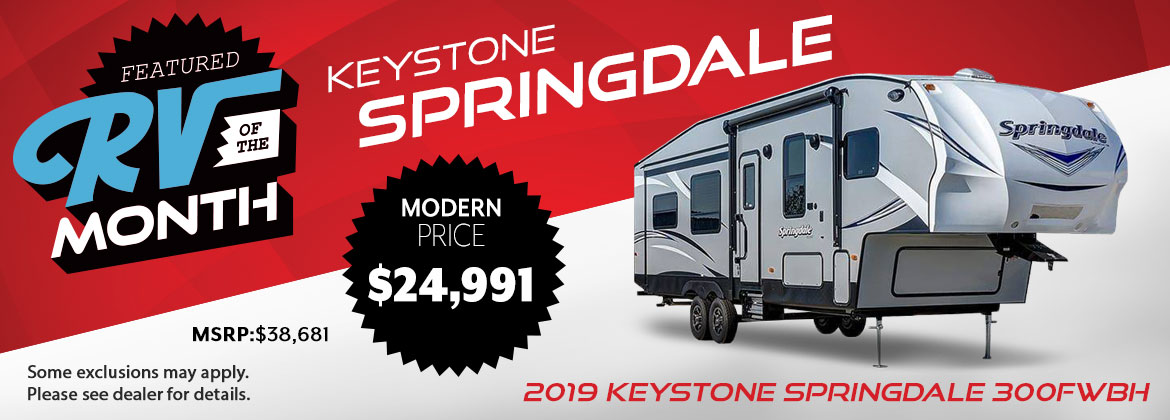 2019 October RV of the Month