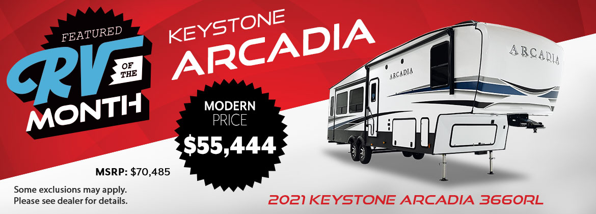 July 2021 RV of the Month