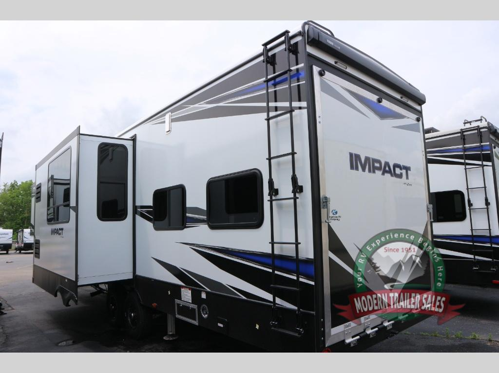 New 2020 Keystone Rv Impact 359 Toy Hauler Fifth Wheel At