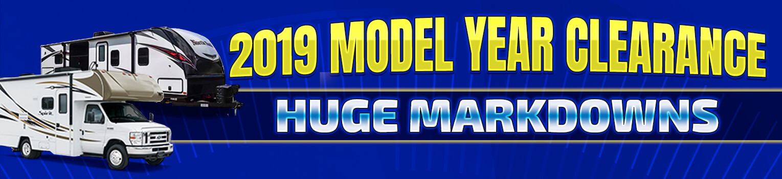 2019 Model Year Clearance