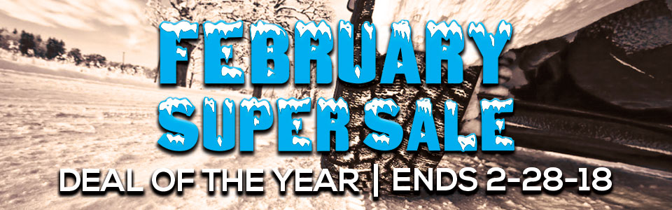 February RV Super Sale