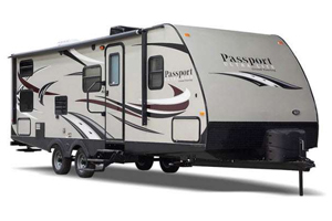 camper trailer for sale, picture of a passport camper trailer for sale, picture of a passport travel trailer sitting in front of a white background