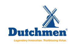 dutchmen rv, picture of the dutchmen rv logo with a white background