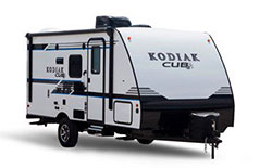 Dutchmen Kodiak Cub, picture of the exterior of a dutchmen kodiak cub travel trailer