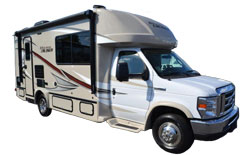 Gulf Stream BT Cruiser motorhome, picture of the exterior of a gulf stream bt cruiser motorhome
