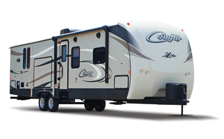 rv campers for sale, picture of a rv camper for sale, picture of a keystone cougar travel trailer for sale