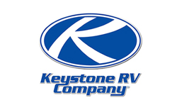 keystone rv, picture of the keystone rv logo with a white background