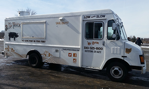 lorain county rv show food truck the slop truck