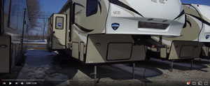 picture of a keystone hideout fifth wheel for the rv videos