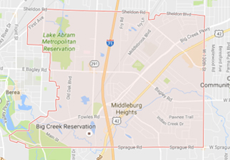 rvs for sale near Middleburg Heights ohio, picture of middleburg heights ohio on a map