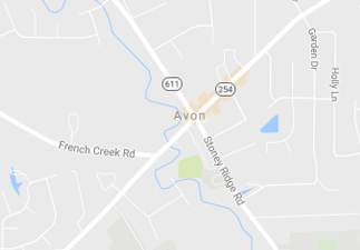 rvs for sale near Avon ohio, picture of avon ohio on a map