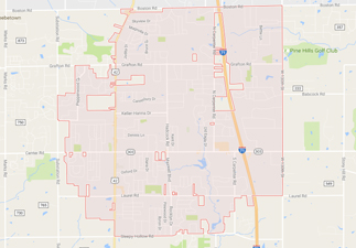rvs for sale near brunswick ohio, picture of brunswick ohio on a map