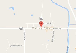 rvs for sale near valley city ohio, picture of valley city ohio on a map