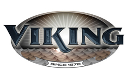 viking rv, picture of the viking rv logo with a white background