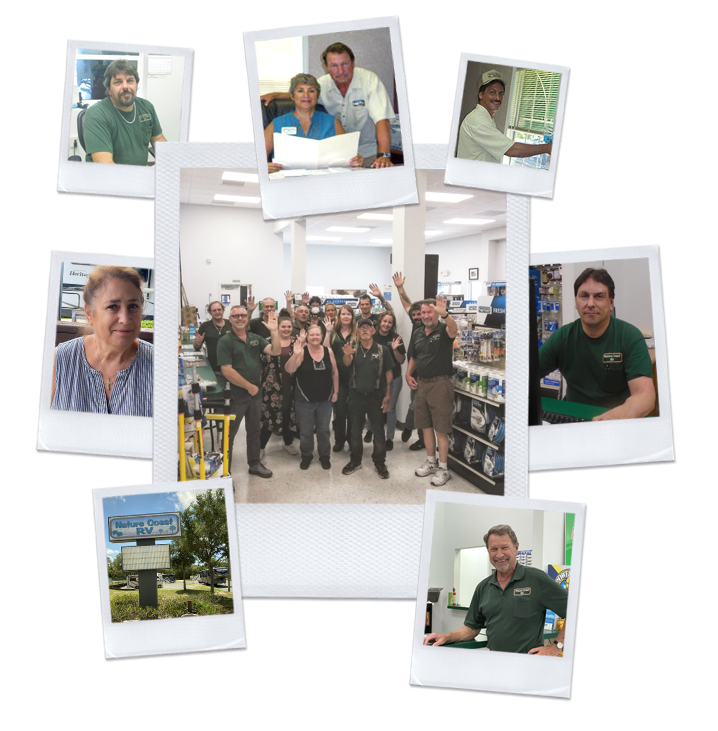 Collage of Staff