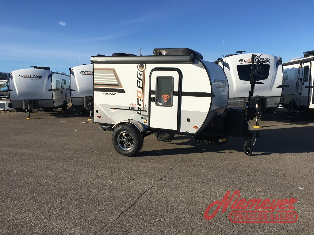 New 2019 Forest River Rv Rockwood Geo Pro 12srk Travel