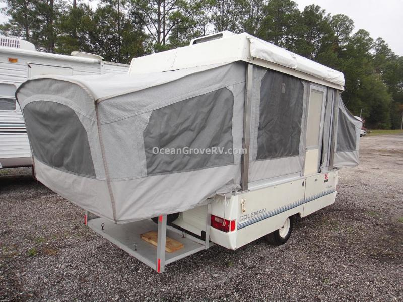 Used 1991 Coleman Newport 8 Folding Pop Up Camper At Ocean Grove RV
