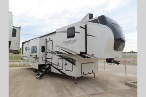 New 2022 Forest River RV RiverStone Reserve Series 3950FWK Photo