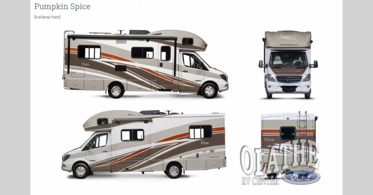 New 2020 Winnebago View 24J Motor Home Class C - Diesel at